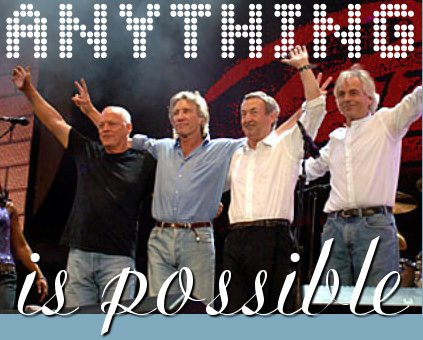 Pink Floyd together again :-)